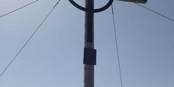 Gipfelkreuz am Glungezer