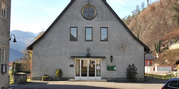 Bludenz-Bings; Pfarrkirche zur Hl. Dreifaltigkeit