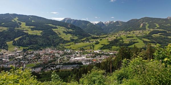 View from Katzenburg tour towards Schladming and Rohrmoos