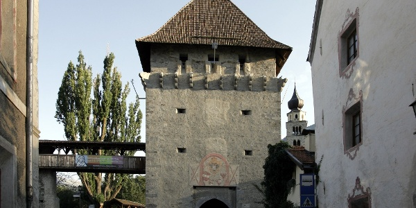 Das Tauferer Tor in Glurns.