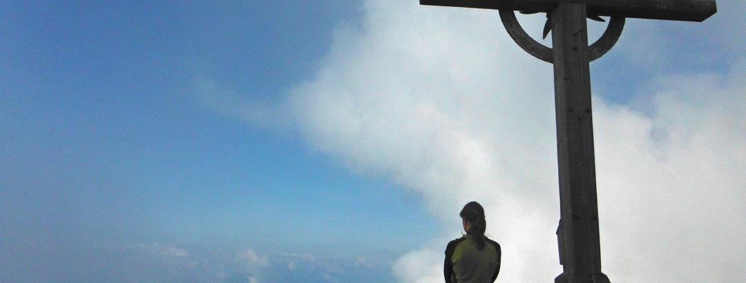 Am Gipfel des Großen Ifinger