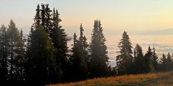 Murau vom Wolken bedeckt.