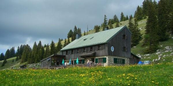 Die Riesenhütte.