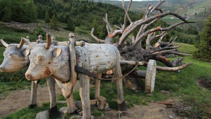 Alles aus Holz auf dem Woody Walk