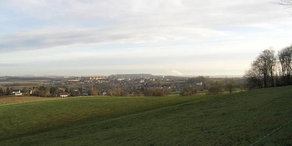 Blick auf den Aachener Kessel