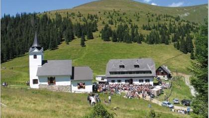 Kirche Maria Schnee und Gleinalmschutzhaus