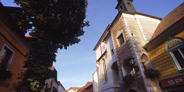 Historische Marktstraße in Emmersdorf
