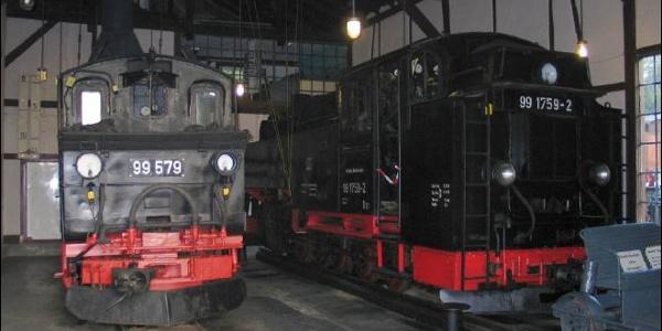 Sächsisches Schmalspurbahn-Museum_Lokschuppen