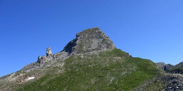 Der Gipfelaufbau des Wolfendorn