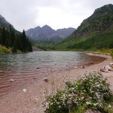 Maroon Lake And Crater Lake Trail Hiking Trail