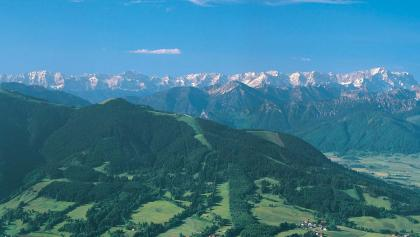 Wanderung Hörnlehütte - Hörnle mit Ammergauer Alpen und Wetterstein