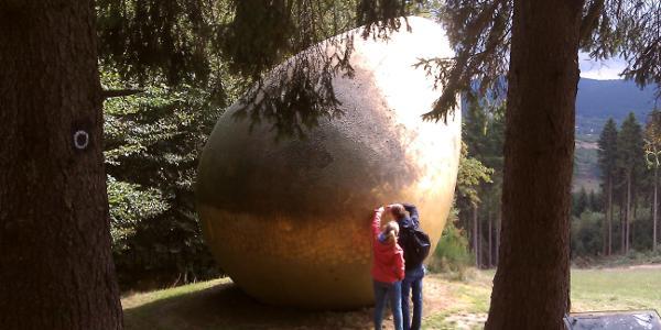 "Das ""Ei"" - genaue Betrachtung des Materials"