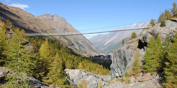 Hängebrücke Zermatt