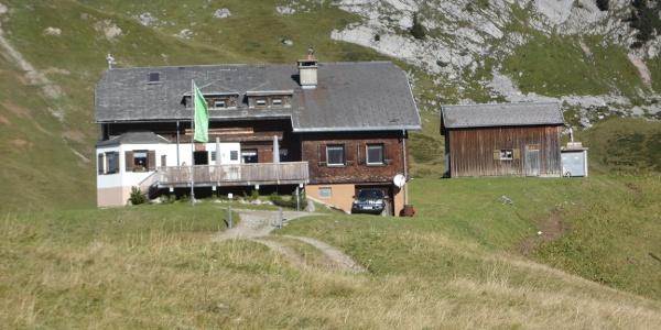 Startpunkt Biberacher Hütte 1846 m