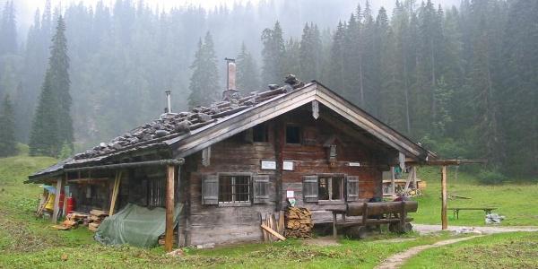 Die Wasseralm inmitten der Berchtesgadener Alpen.