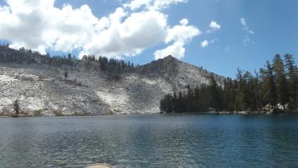 Der glasklare Ostrander Lake.