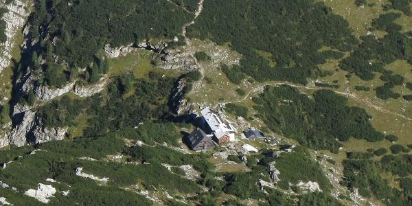 Hesshütte vom Aufstieg zum Hochtor