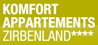 Logo Komfort Appartements Zirbenland