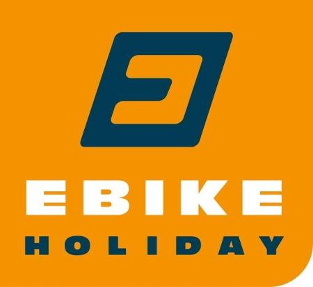 Logotipo ebike holiday