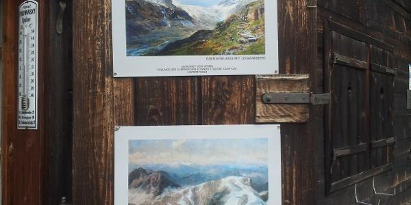Bilder geben Einblick in das Leben des Alpenmalers