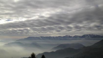 Blick auf die Bergwelt der Vizentiner Alpen.