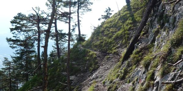 Schleifwandsteig