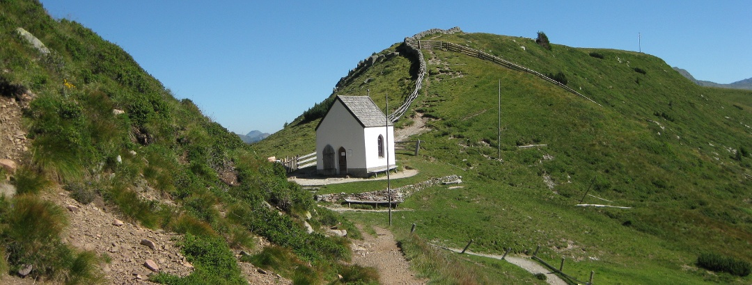 Das Totenkirchl - Ansicht von Süden