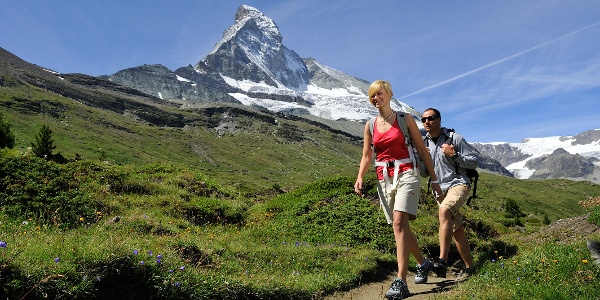 Wanderung entlang des Matterhorn Trail