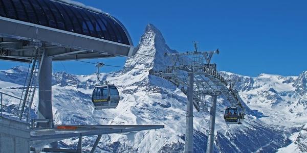 Blauherd: paradis été comme hiver, avec vue imprenable sur le Cervin.