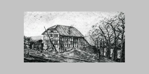 Zollhaus Fischanger um 1890