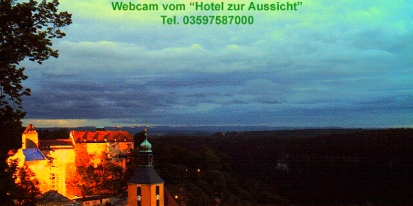 Webcam in Hohnstein abends