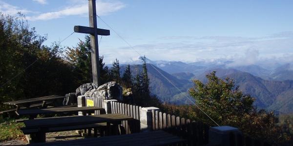 Gipfelkreuz am Hohenstein