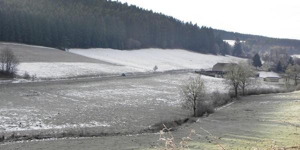Brigachtal im Winter