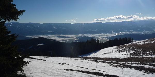 Blick Richtung Knittelfeld
