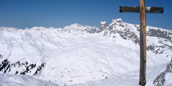 Skitour Rotspitz St. Antönien Partnun