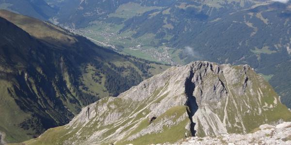 Blick über die Kleine Künzelspitze in den Bregenzerwald