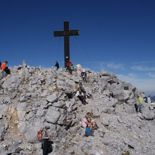 Der Bosruck-Gipfel