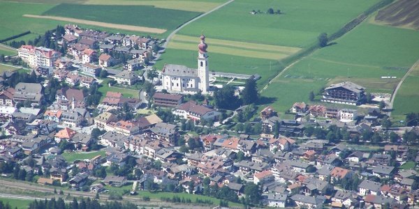 Niederdorf im Hochpustertal in den Dolomiten