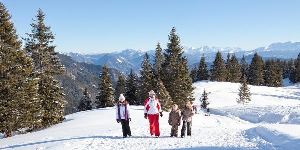 Winterwanderweg Weiße Wanne