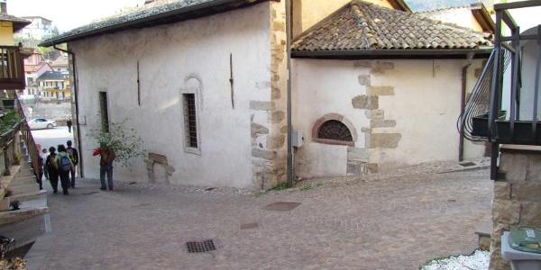 SAT 422 San Lazzaro - Dolasi. La chiesetta di San Lazzaro