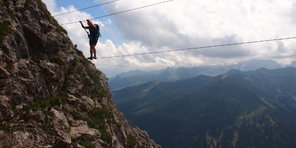 Klettersteig Neyerscharte