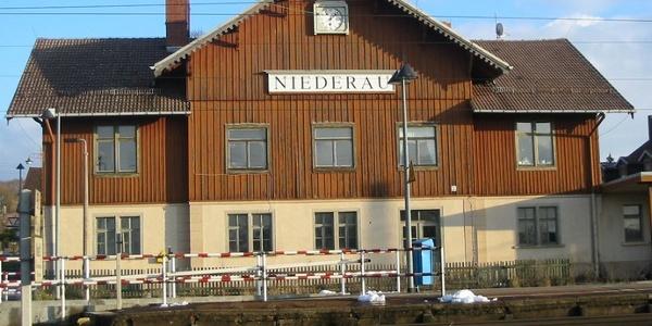 Niederau Bahnhof