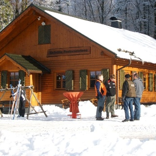 Skihütte an der Loipe Pastorenwiese