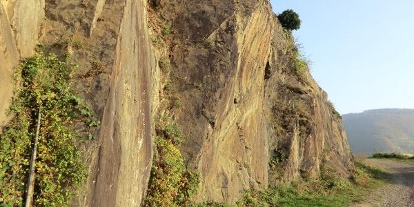 Felswände oberhalb von Senheim
