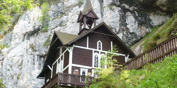 Hochlantsch, Wallfahrtskirche Schüsserlbrunn, Außenansicht