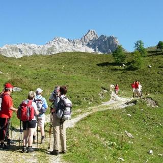 Aufstieg zur Franz-Fischer-Hütte