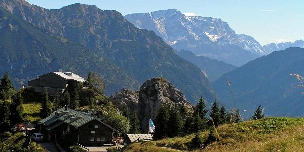 Bergtour Teufelstättkopf Sonnenberg und Kofel - Pürschlinghaus