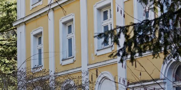 Haus an der Weilheimer Straße in Starnberg..