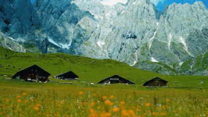 Vier Hütten
