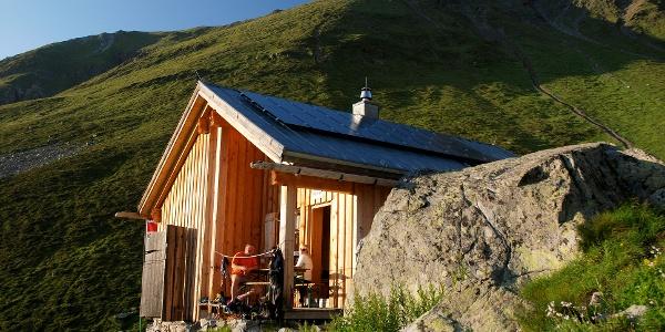 """Die """"Winterhütte"""" bietet 12 Schlaflager"""